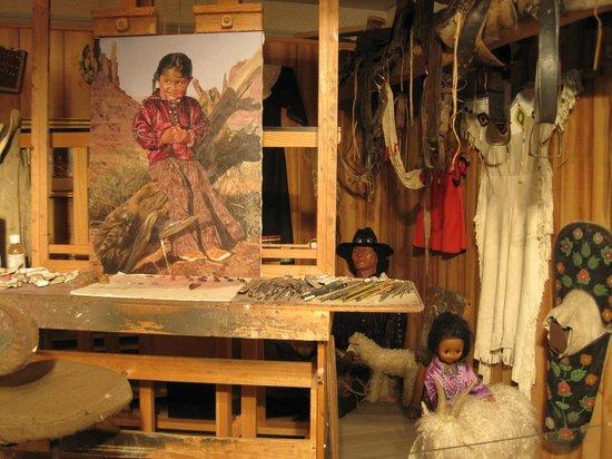 Phippen Museum : Ray Swanson's studio
