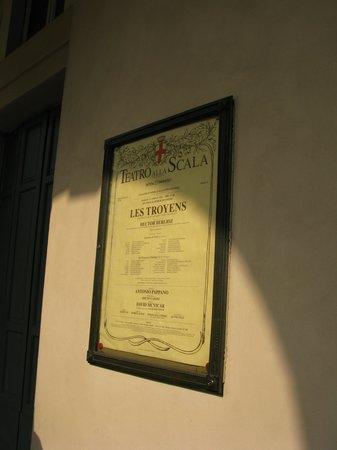 Scala de Milan (Teatro alla Scala) : les Troyens