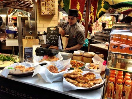 Cafe Moor: Friendly staff