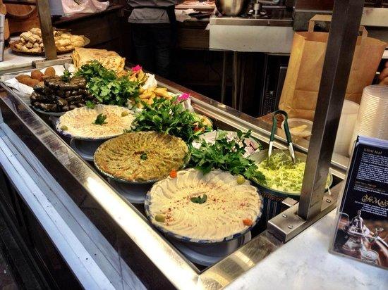 Cafe Moor: Beautifully presented food