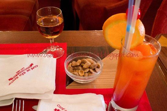 Cafe de Sao Bento : aperitivos