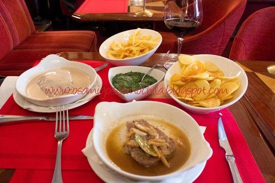 Cafe de Sao Bento : Os bifes e as batatas