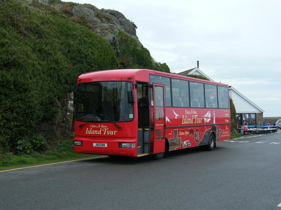 Jersey Bus and Coach Tours: A view of the bus