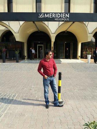 Le Meridien Heliopolis : HOTEL MAIN ENTRANCE