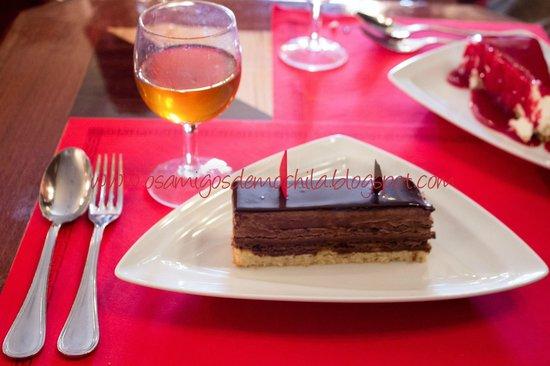 Cafe de Sao Bento : Carré de 2 chocolates Denegro