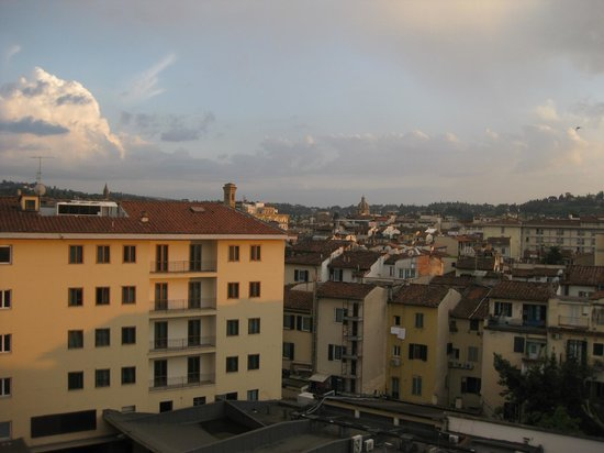 Hotel Ambasciatori: Vista desde la habitación