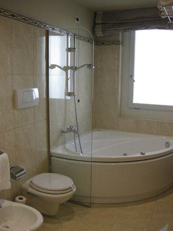 Hotel Ambasciatori: Baño