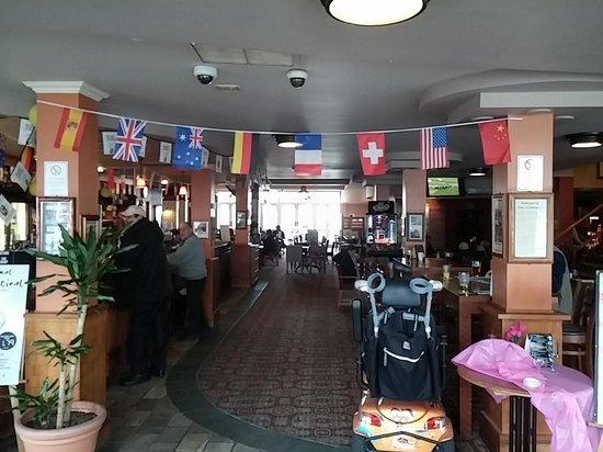 The Auctioneer: pub interior