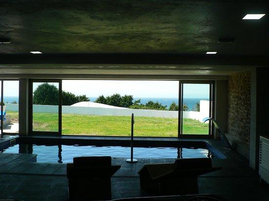 Hotel Mar da Ardora: Vista desde interior spa