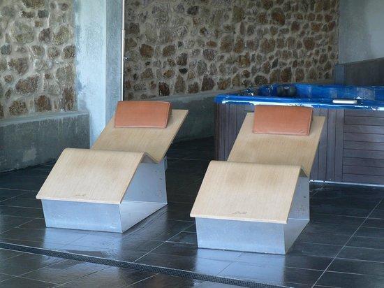 Hotel Mar da Ardora: Tumbonas Termicas