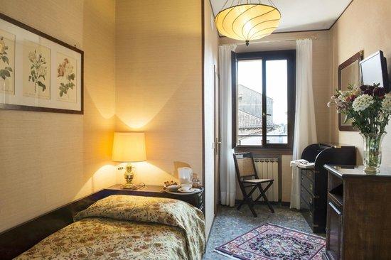 Hotel Agli Alboretti: Camera singola