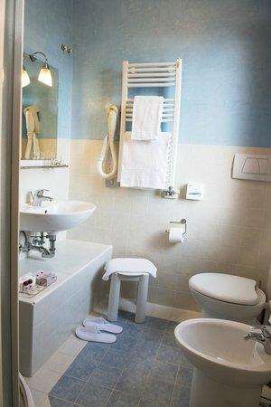 Hotel Agli Alboretti: Bagno