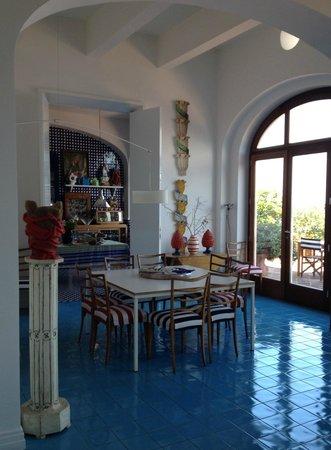 Maison La Minervetta: Karaktervolle inrichting
