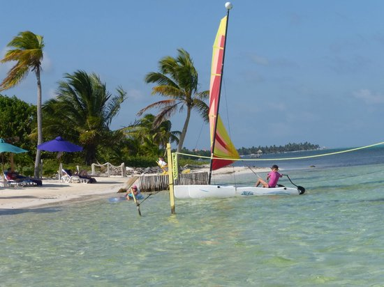 X'tan Ha Resort: sailing available