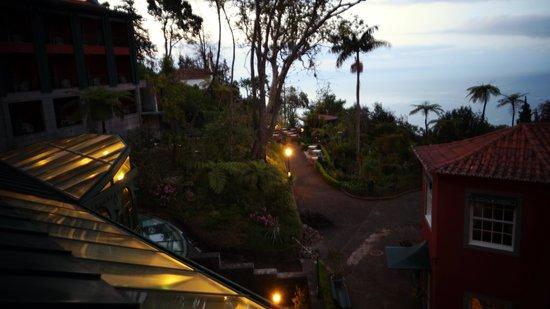 Quinta do Monte: vue de la chambre au petit matin