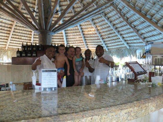 Melia Caribe Tropical: At the pool bar!