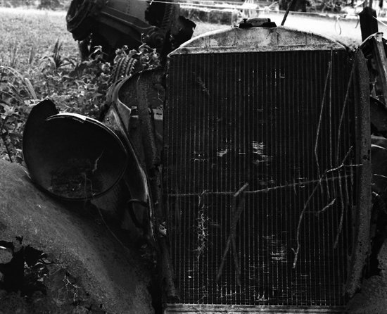 Cumberland Island National Seashore: derelict automobile mamiya