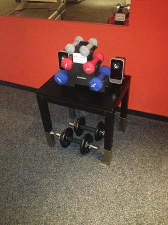 angelo by Vienna House Bucharest: Fitness room 1