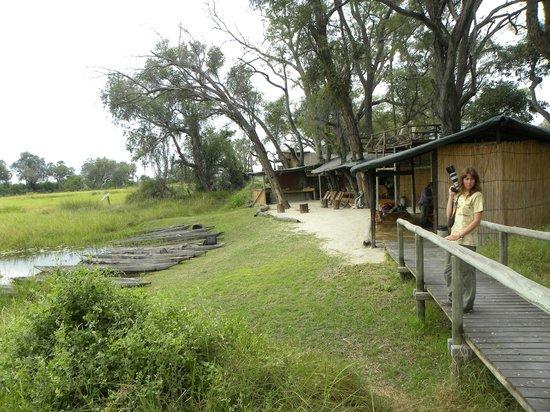 Oddballs' Palm Island Luxury Lodge: la parte comune del campo
