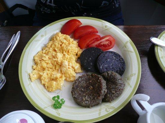 Dalrannoch Farm Bed and Breakfast : Petit déjeuner écossais