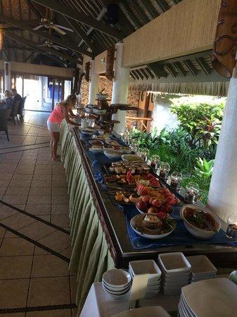 Hotel Kia Ora Resort & Spa: Breakfast