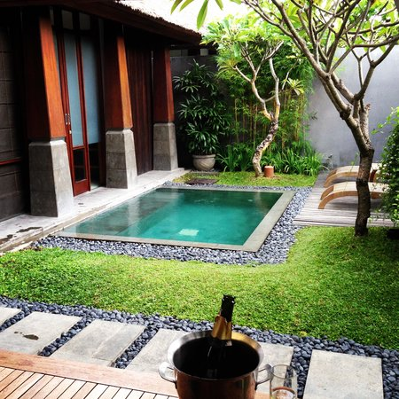 The Kayana Bali: Mini Pool - Just perfect!