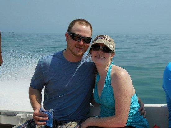 Belizean Dreams Resort : On the boat for Snorkeling