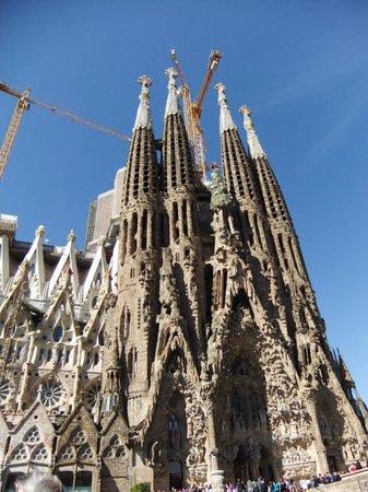 Sagrada Família : particolare della Sagra Familia