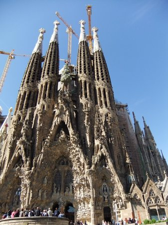 Sagrada Família : un altro particolare della Sagra Familia