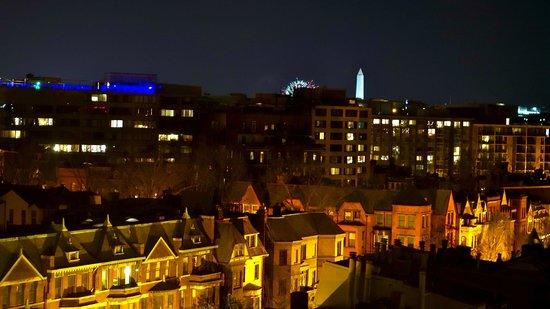 Kimpton Hotel Palomar Washington DC: view from our room