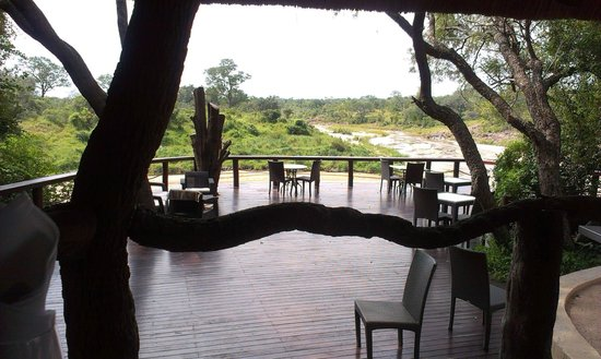 Jock Safari Lodge : lunch with a view