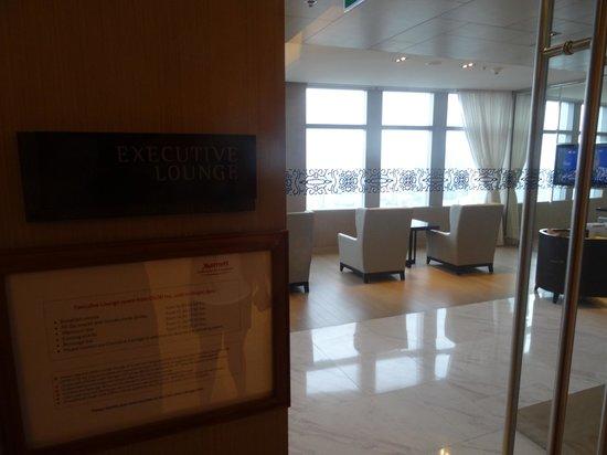 Bangkok Marriott Hotel Sukhumvit: Executive club lounge