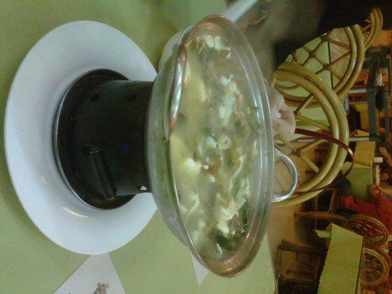 China Sea : mini soup from ala carte