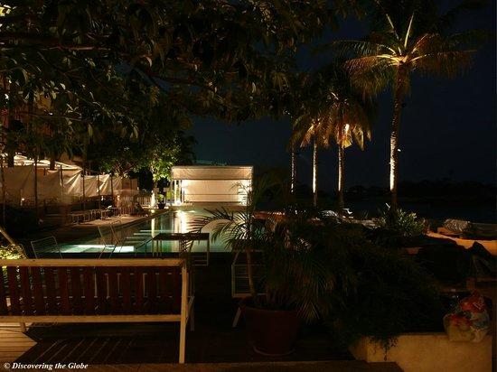 Tanjong Beach Club by night