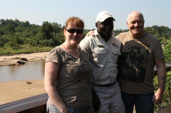 Jock Safari Lodge: us with Jacob