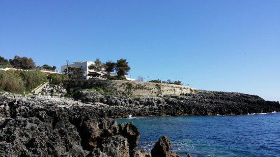 Hotel Il Vascello: Vista dell'albergo dalla costiera