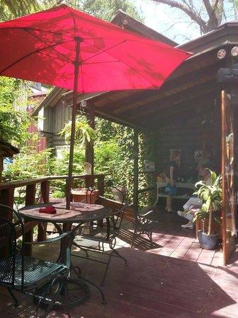 Wild Plum Tea Room: Outside