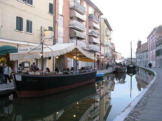 Hotel Locanda La Comacina: Locanda La Comacina - il barcone/ristorante