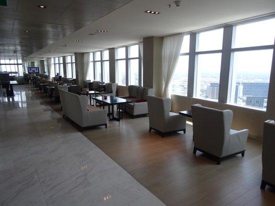 Bangkok Marriott Hotel Sukhumvit: Executive club lounge on the 40th floor