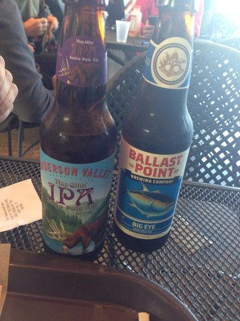 Bistro Boudin : Good selection of beers!