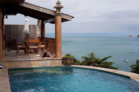 Santhiya Koh Phangan Resort & Spa: View from privat pool IV