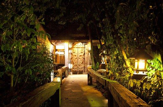 Santhiya Koh Phangan Resort & Spa: gate to our private bungalow