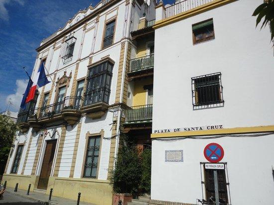 Barrio Santa Cruz : Plaza de Santa Cruz