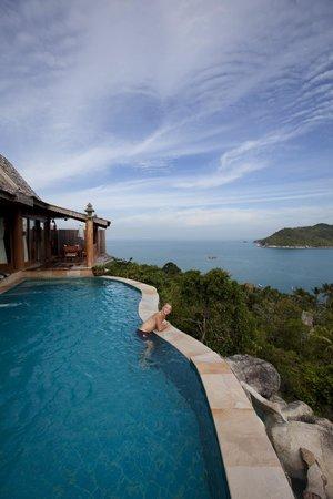Santhiya Koh Phangan Resort & Spa: View from privat pool VI