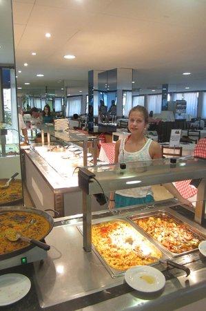 H·TOP Palm Beach & SPA: buffet