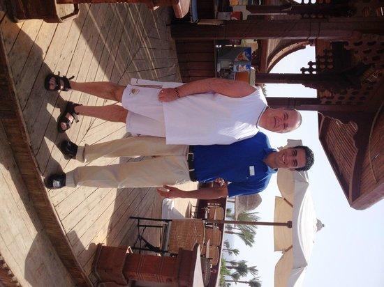 Radisson Blu Resort, Sharm El Sheikh : Mohammed from pool bar