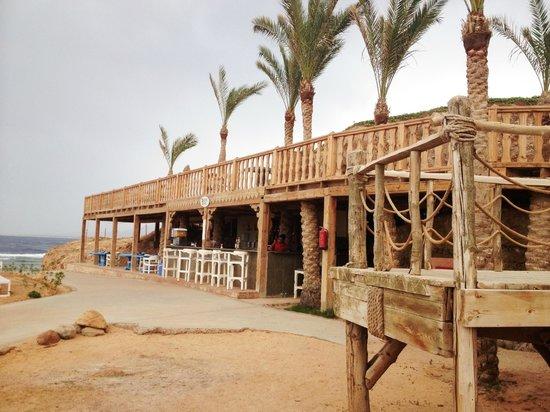 Radisson Blu Resort, Sharm El Sheikh : The fish restaraunt and beach bar