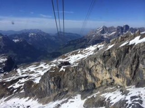 Best of Switzerland Tours: View from top of Mt. Titlis