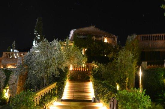 Valldemossa: impresión  por la noche