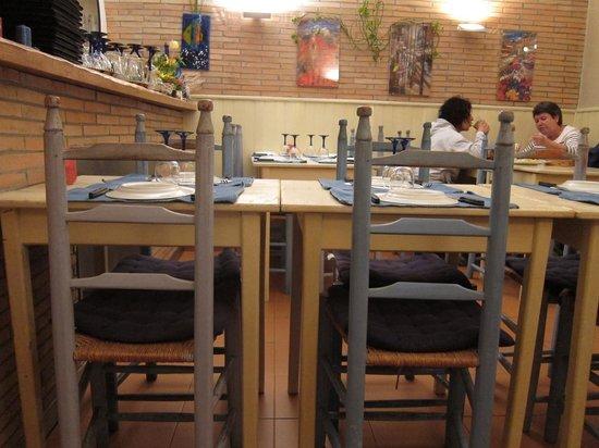 Blue Jardim - Cafe e Restaurante: Schüchterner Blick ins Restaurant